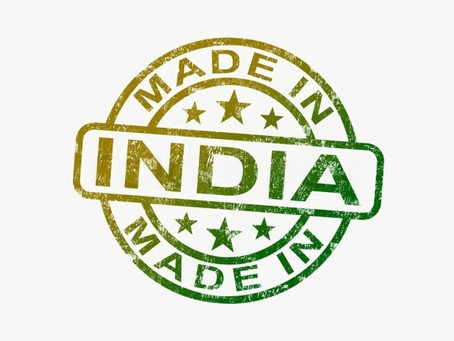 Out of 327 items, 3/4th of imports from China, can be manufactured in India.