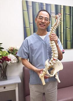 Hong Kong chiropractor Dr Rin Park