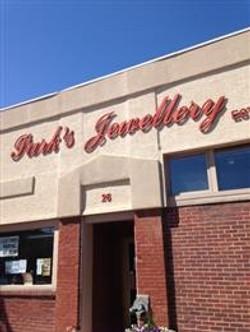 Park's Jewellery, Yorkton SK