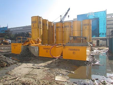 Fundamenta - Estaca Escavada Estação de Lama