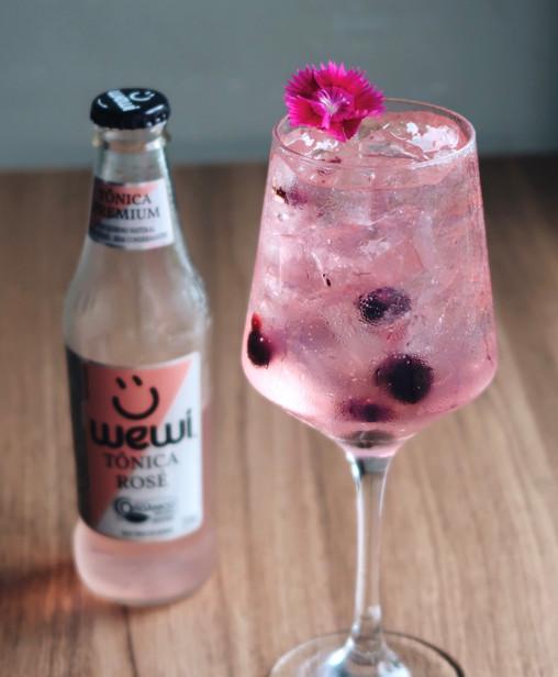 Gin Tônica Rose