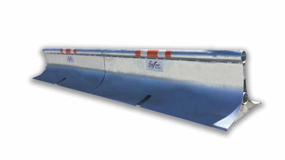 Miniguard - Galvanized Steel Guardrail
