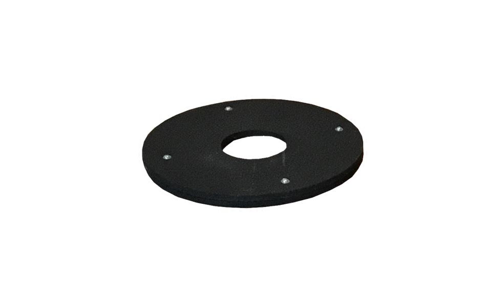 16 lbs Round Rubber base