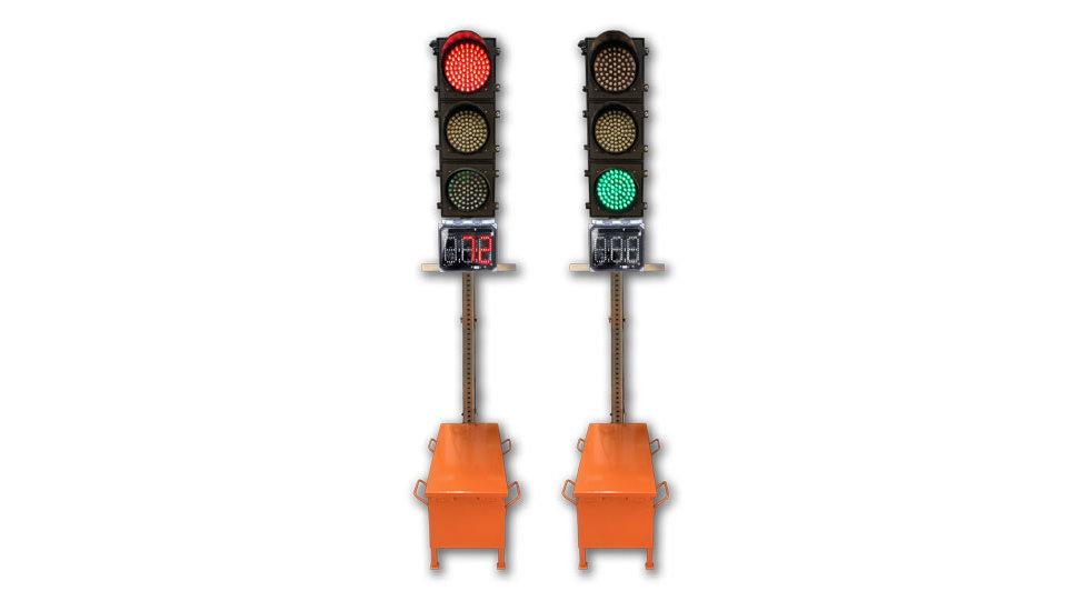 FLEX PRO KIT - portable traffic light