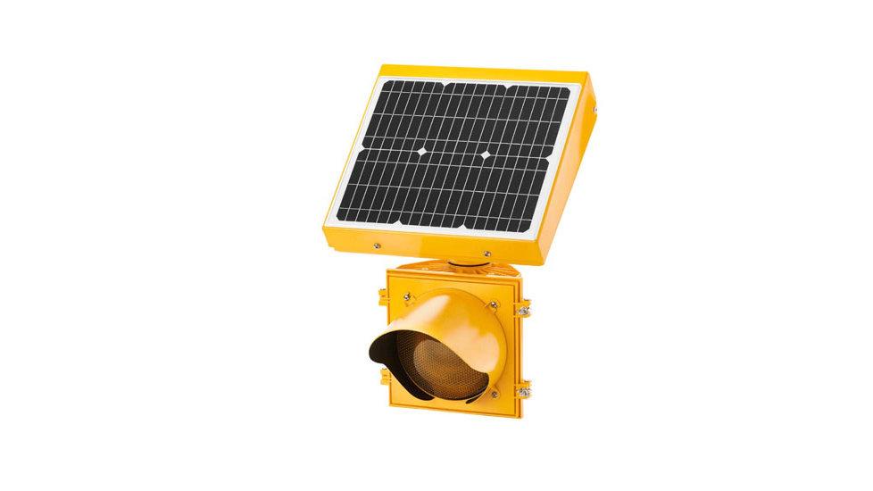 24h Flashing Beacon - Solar powered