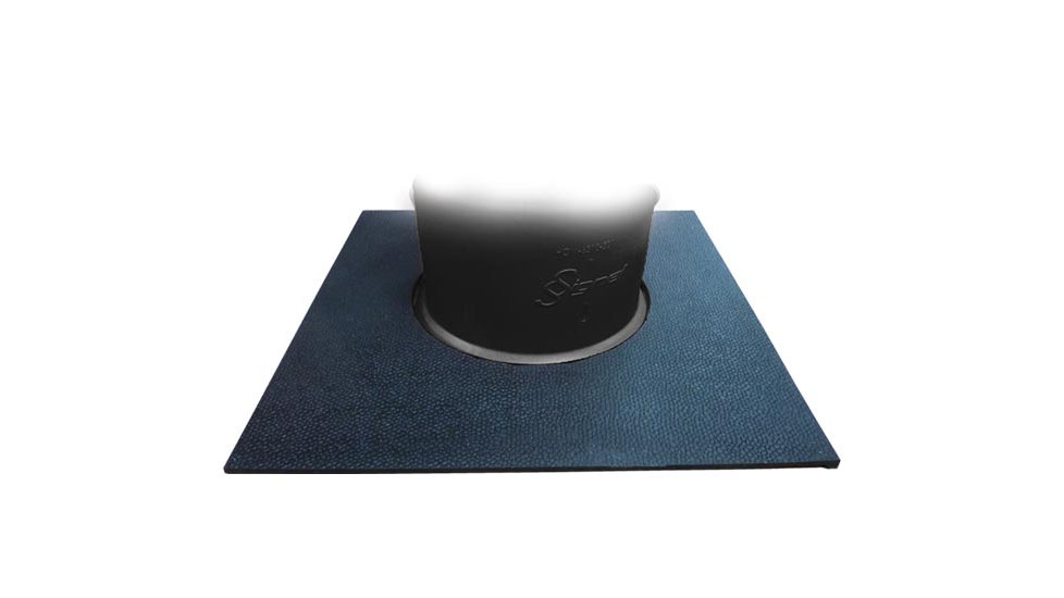 Square carpet base 18 lbs
