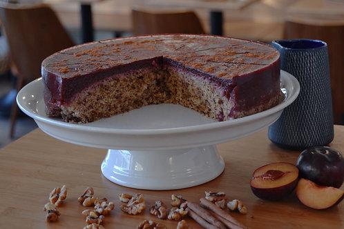 Zwetschken-Walnuss-Torte (vegan)