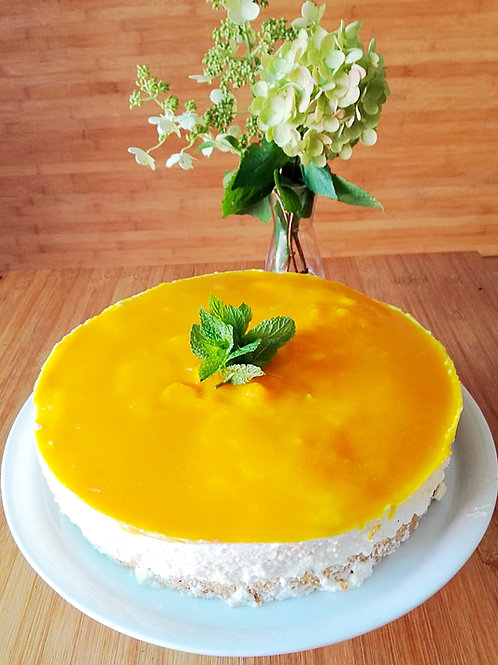 Zitrus-Topfen-Torte