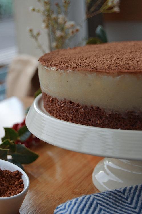 Schoko-Bananen-Torte (vegan)