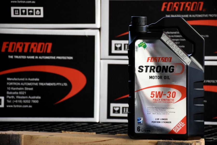 FORTRON STRONG D LONGLIFE PERFORMANCE 5w30 น้ำมันเครื่องดีเซลสังเคราะห์ 100%