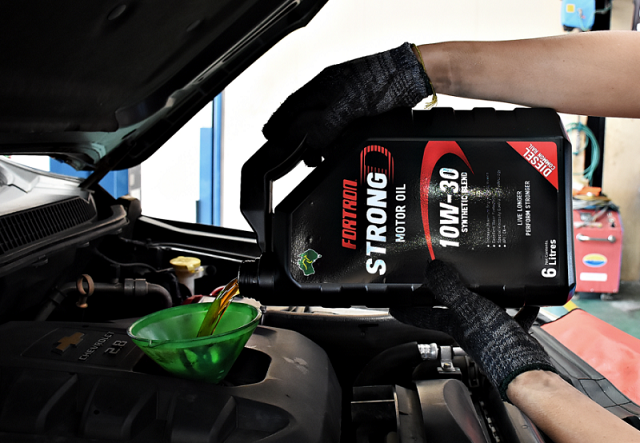 Fortron Strong D 10W-30 Motor Oil
