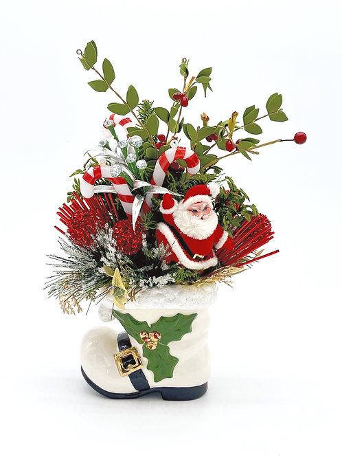 And Santa To Boot Arrangement