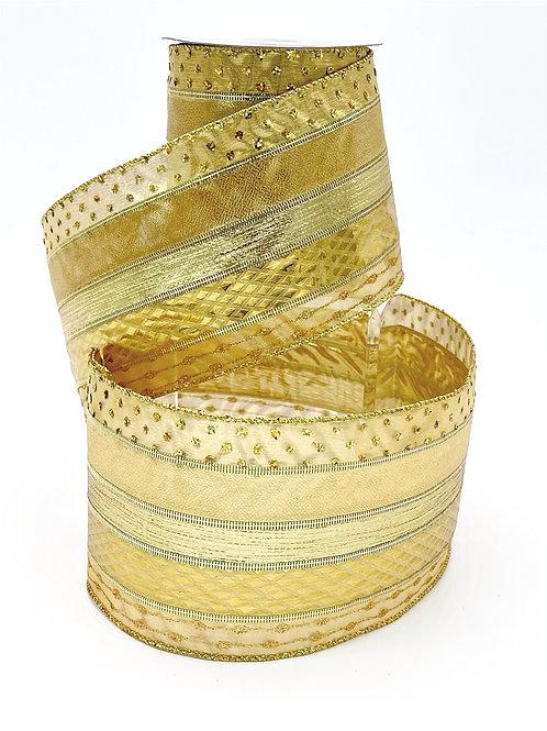 Gold Textured Ribbon