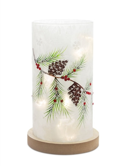 Pine and Cone LED Light