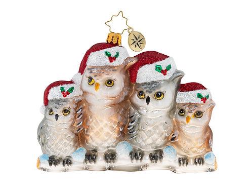 "Christopher Radko ""It's Owl in the Family"""