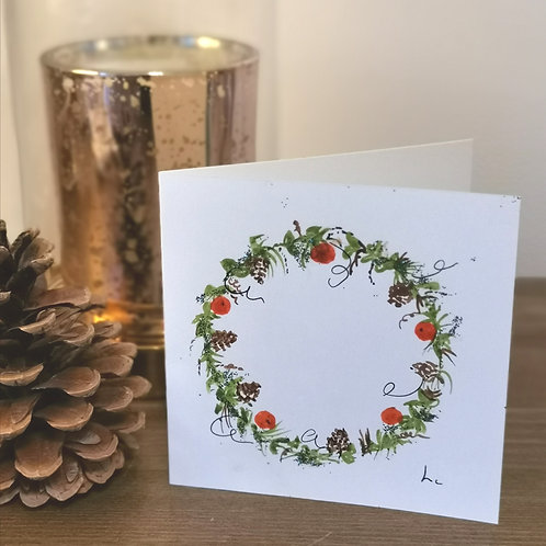 Hand Painted Gift Card