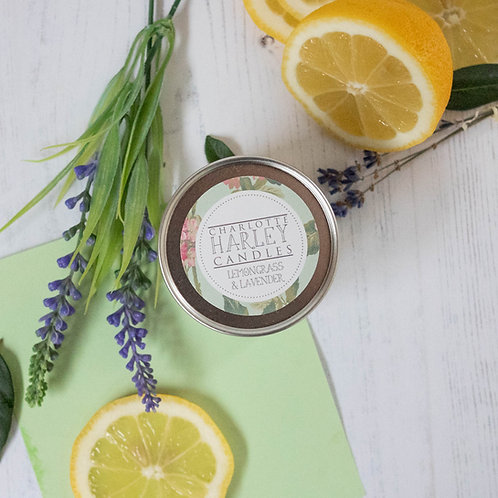 Lavender and Lemongrass Mini Candle 10cl
