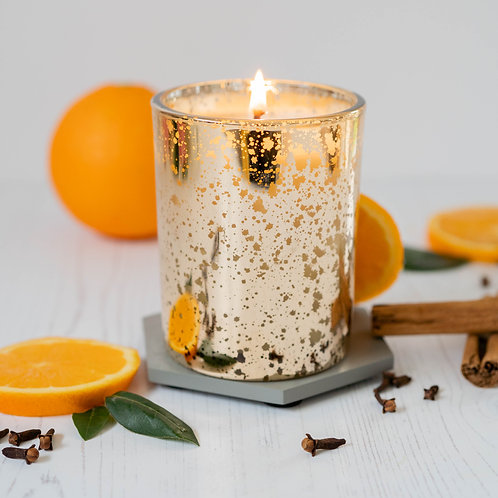 Winter Spice Candle Sparkly Jar 30cl