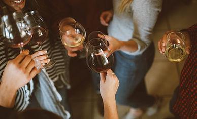 Toast au vin