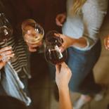 Tostada de vino