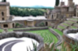Esoteric garden Umbria Scarzuola Tour.jp