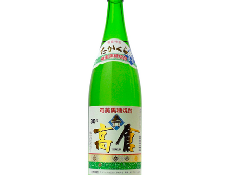 黒糖焼酎 高倉 30度 1800ml
