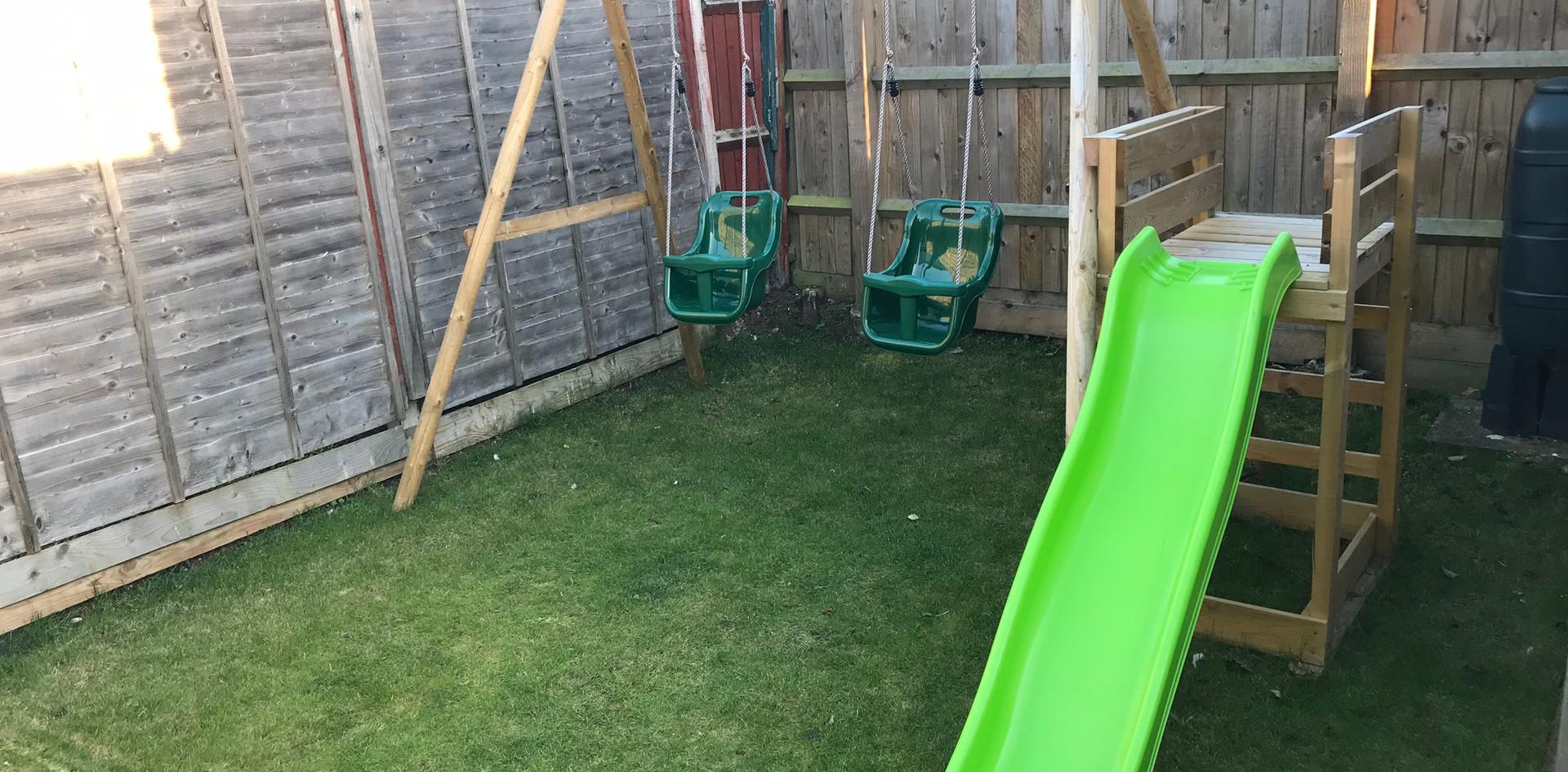 Swings and Slide set