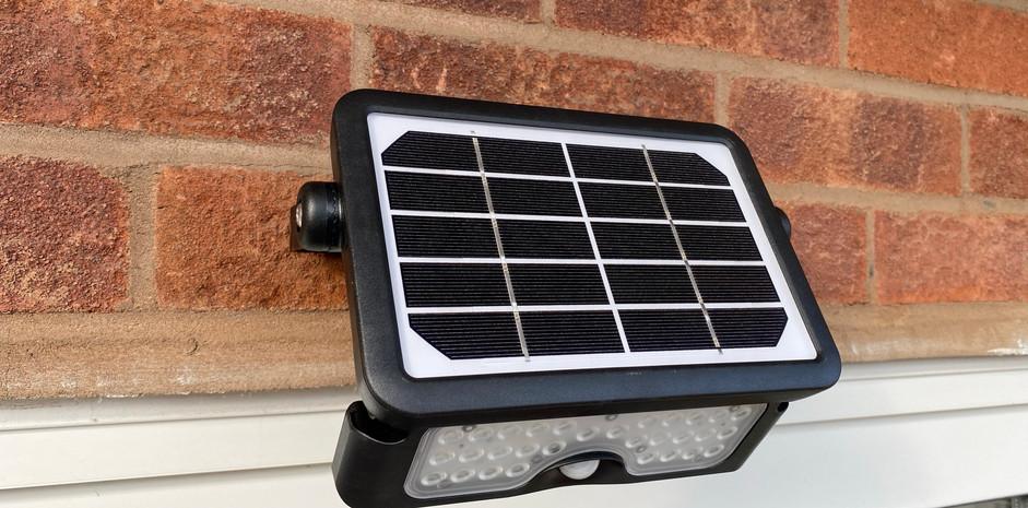 Solar Powered Security Light