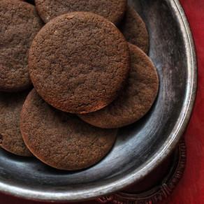 Biscuits en pain d'épice, double gingembre