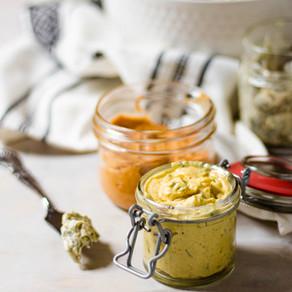 Beurres composés pour le maïs