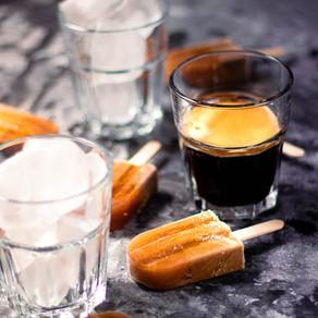 Sucettes glacées au café