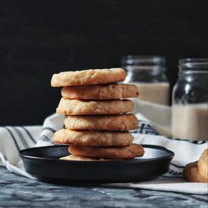 Shortbread aux amandes et à la noix de coco
