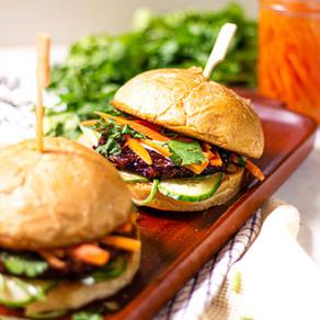 Burger façon Banh Mi vietnamien