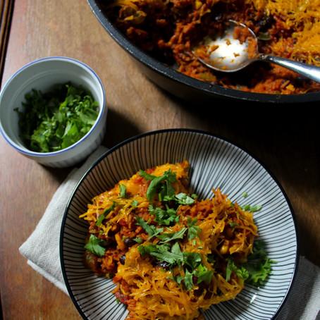Casserole de riz à la mexicaine