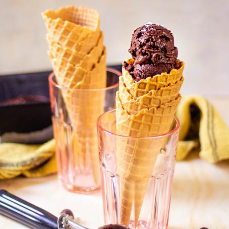 Crème glacée au chocolat (sans sorbetière!)