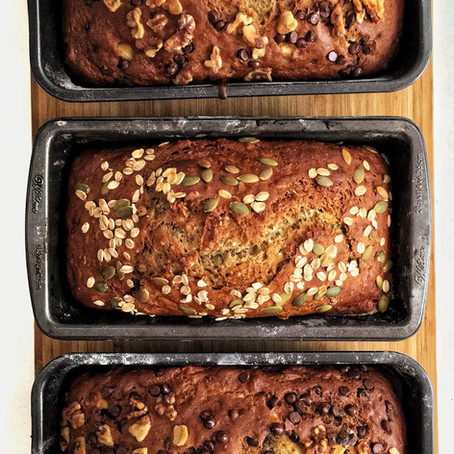 BANANA BREAD, 2 WAYS