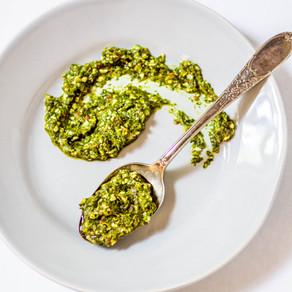 Pesto de coriandre