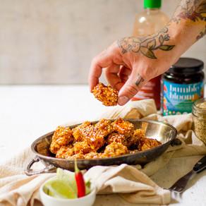 """Pépites de tempeh sucrées épicées (sweet chili """"au miel"""")"""
