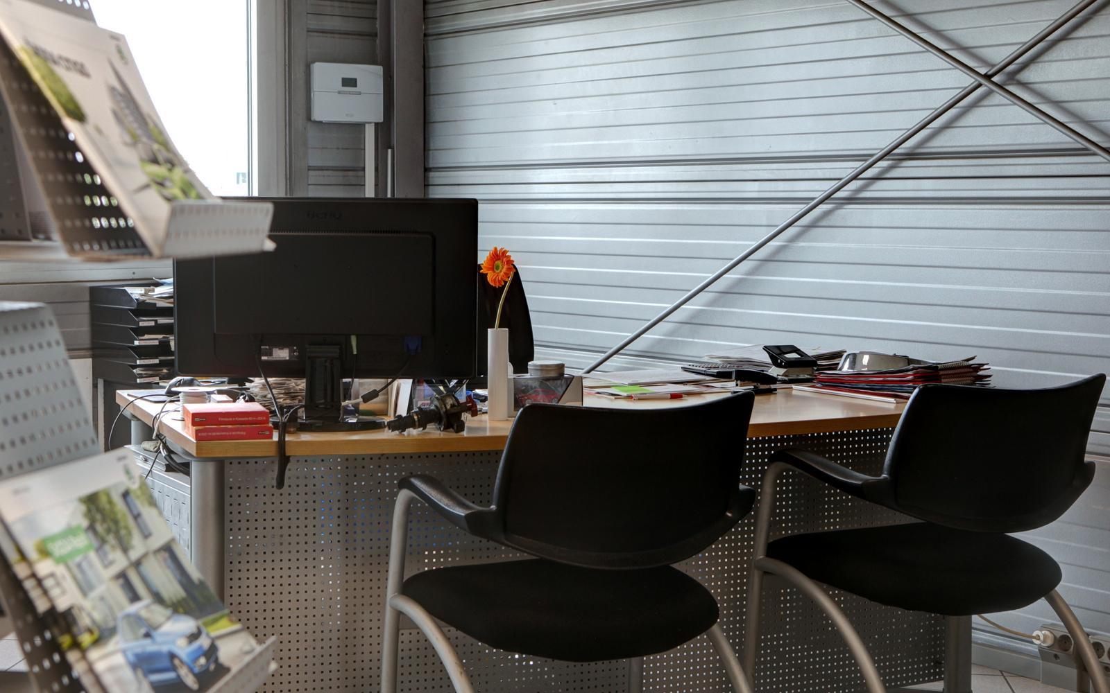 Schreibtisch Klaus Östringer
