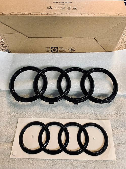 Audi A3 S3 RS3 8V Sportback Limousine Schwarze Ringe