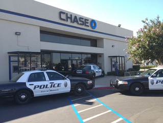 Chase Bank robbed in San Dimas