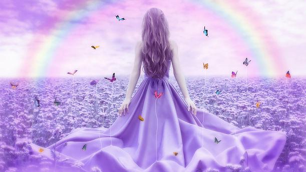 purple-flowers-rainbow-butterfly-girl-25
