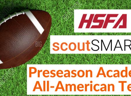 scoutSMART / High School Football America Preseason Academic All-American Watch List
