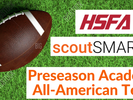 scoutSMART / High School Football America Preseason Academic All-American Watch List