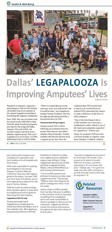 InMotion Magazine Article - May/Jun 2018 Legapalooza
