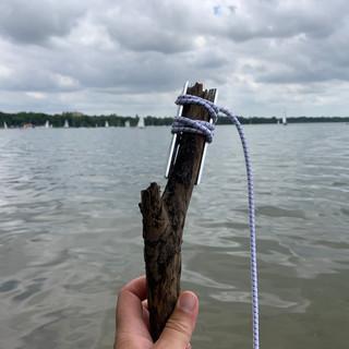 Burtle on a Stick