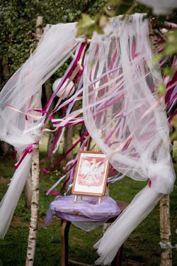 dekoracje ceremonii ślubnej