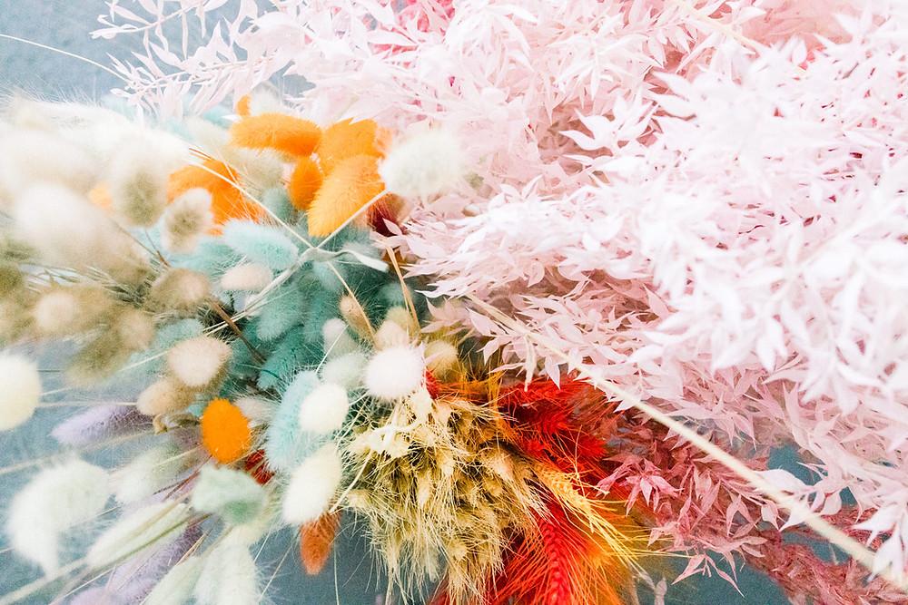 suszone trawy, suszone dekoracje, ruskus, dmuszek