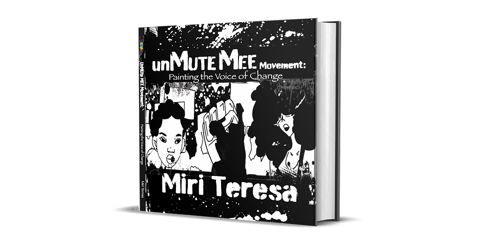 UnMUTEmee Movement Painting the Voice of Change