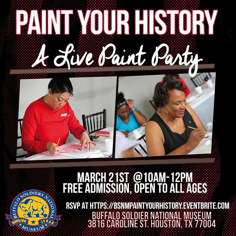 Paint Your History with MIRI TERESA POSTPONED